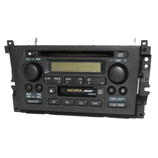 99-01 Acura TL AM FM Bose Radio CD Cassette Player 39101