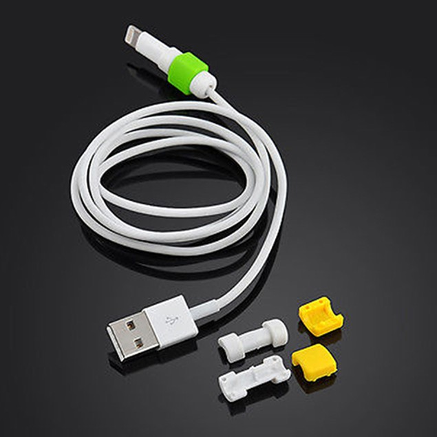 4x Lightning Cable Saver Protector for Apple iPhone 5 5S 6 6 Plus