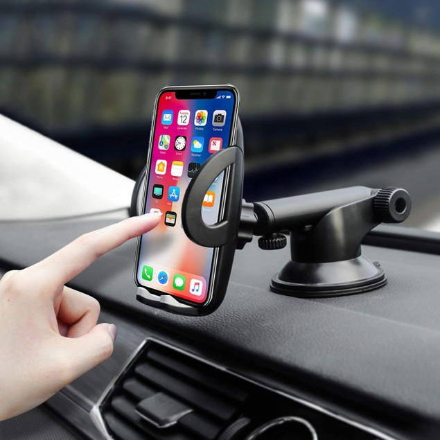 Universal 360 Degree Windshield & Dash Car Mount for Phones