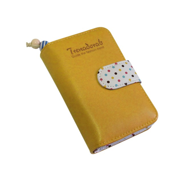 Women's Cute Dots Coin Purse Clutch Card Holders Handbag Wallet