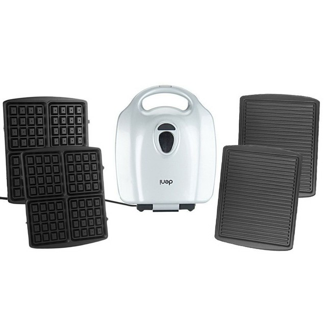 Cook's Essentials by Deni Panini Grill & Waffle Maker - Assorted Colors