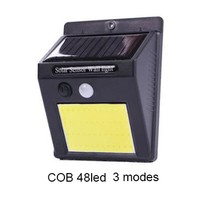 Deals on 4-Pack 48 COB LED Outdoor Solar Motion Sensor Light