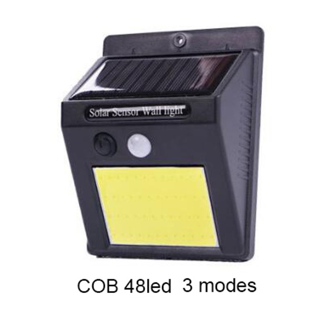 4-Pack 48 COB LED Outdoor Solar