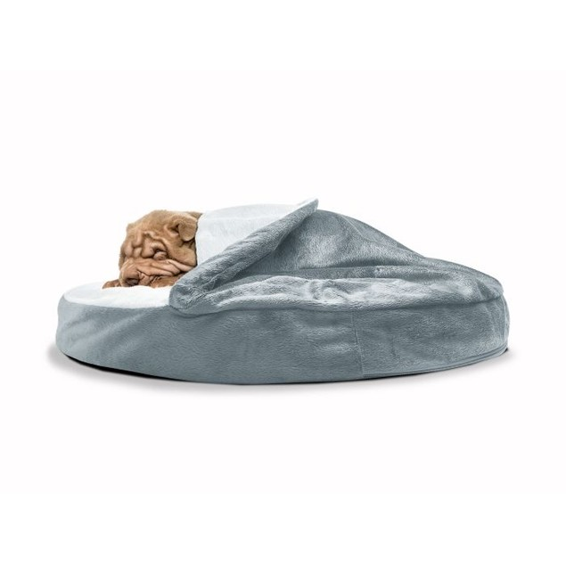 Microvelvet Snuggery Orthopedic Pet Bed