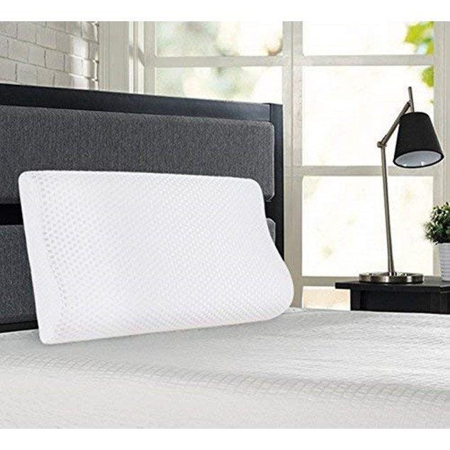 VECELO MEMORY FOAM BED PILLOW FOR SIDE ,STOMACH & BACK SLEEP
