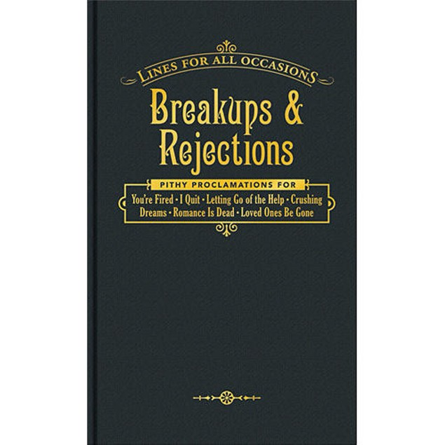 Breakups & Rejections Book,  by Who's There, Inc.