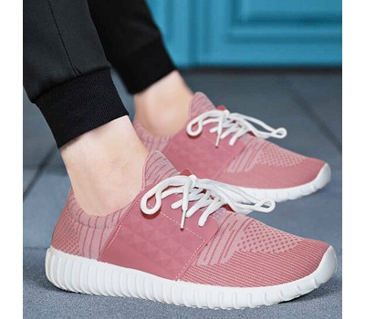 Women's Casual Breathable Memory Foam Lace-Up Sneakers Was: $69.99 Now: $17.99.