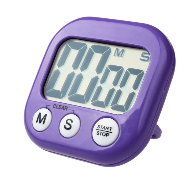 Magnetic Kitchen Digital Count Down Up Counter Timer Alarm Clock