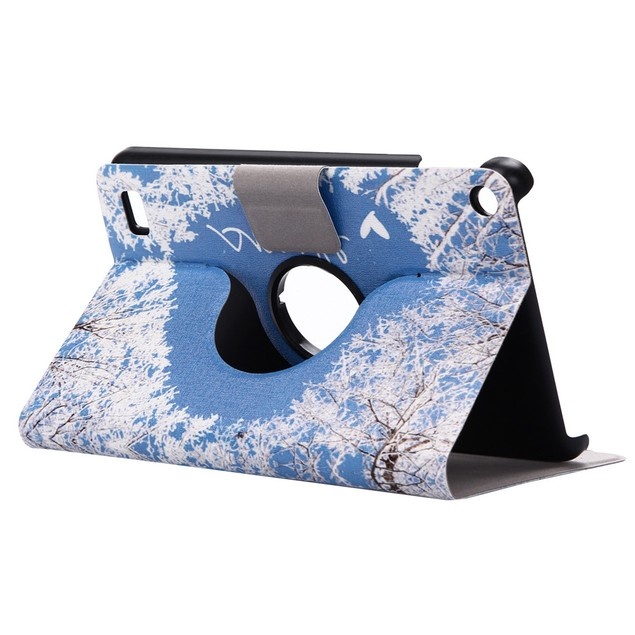 Intelligent Sleep Case Cover For Amazon Kindle Fire HD 7 2015 Tablet