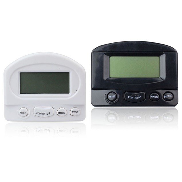 Digital Count Up Down Kitchen Timer Magnetic Electronic Alarm