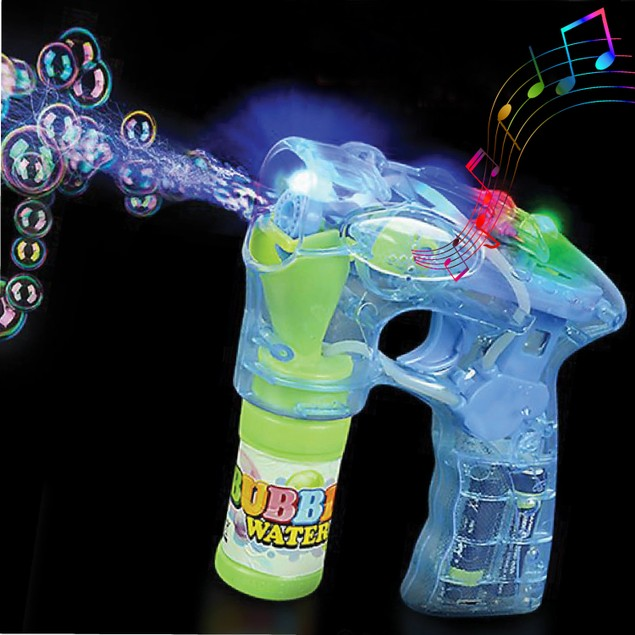 Bubble Blaster Gun with Lights & Music