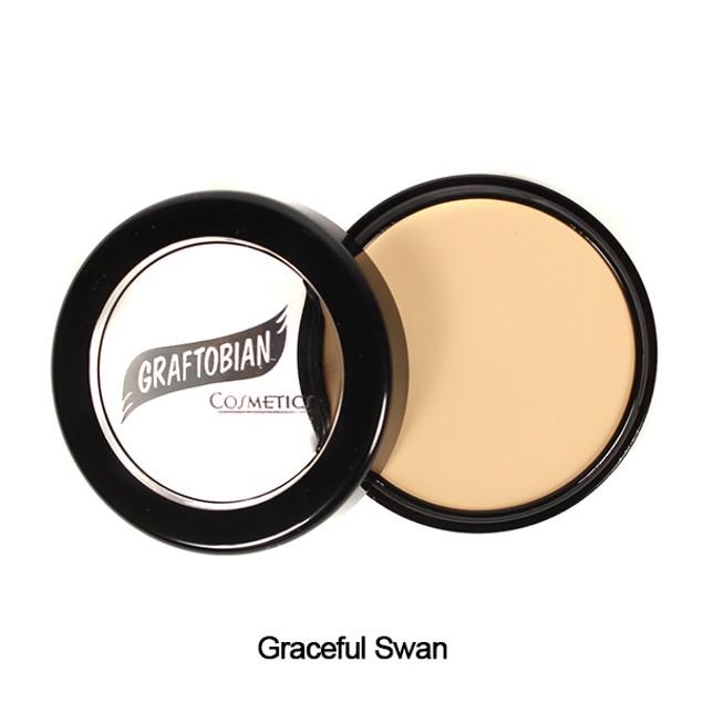Graceful Swan HD Glamour Creme Foundation 5oz. Graftobian Cruelty Free USA