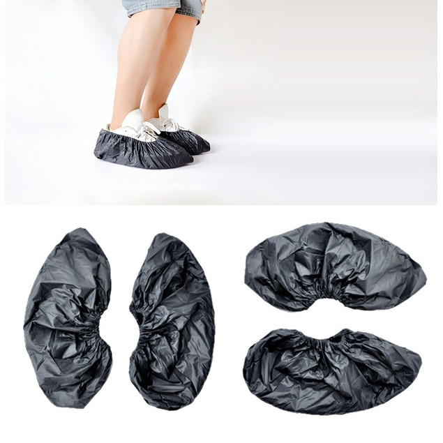 Reusable Unisex Rain Overshoes Waterproof Anti-slip Shoe Covers  Boot