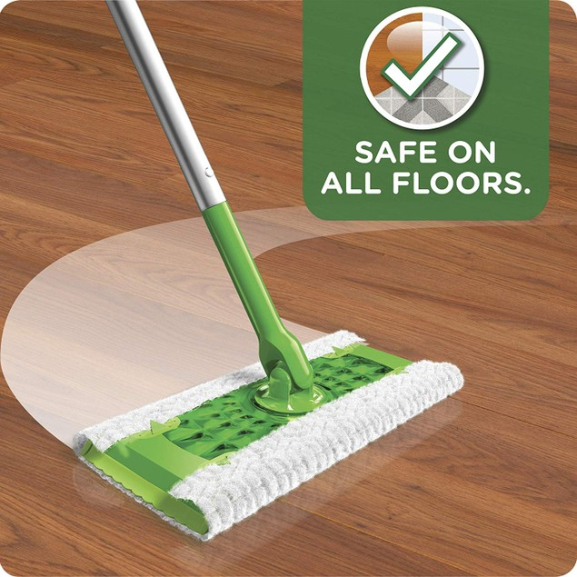 Swiffer Sweeper Dry and Wet Floor Mopping and Cleaning Starter Kit