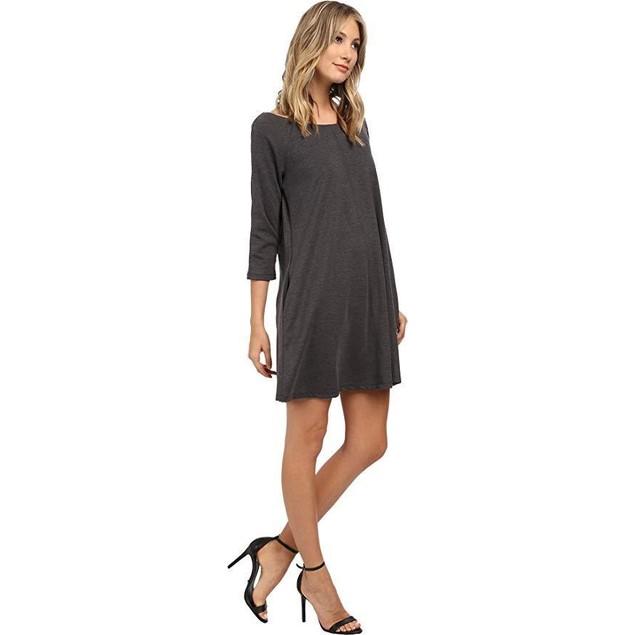 Christin Michaels Women's Michelle Dress Charcoal Dress 10