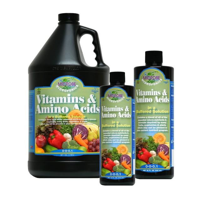 Microbe Life Vitamins & Amino Acids, 1 qt