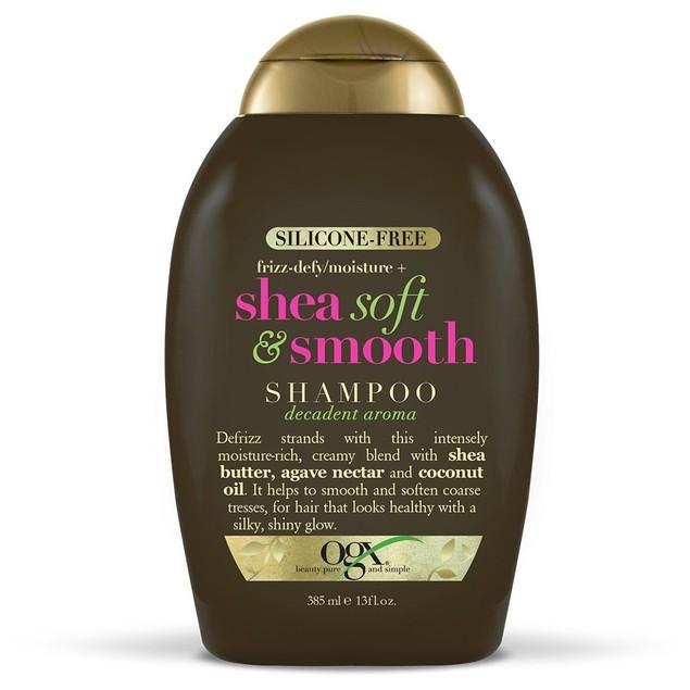 OGX Silicone Free Frizz Defy Shea Soft and Smooth Shampoo