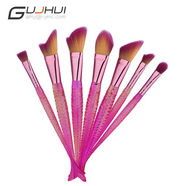 7PCS  Make Up Foundation  Blush Cosmetic Concealer Brushes 101