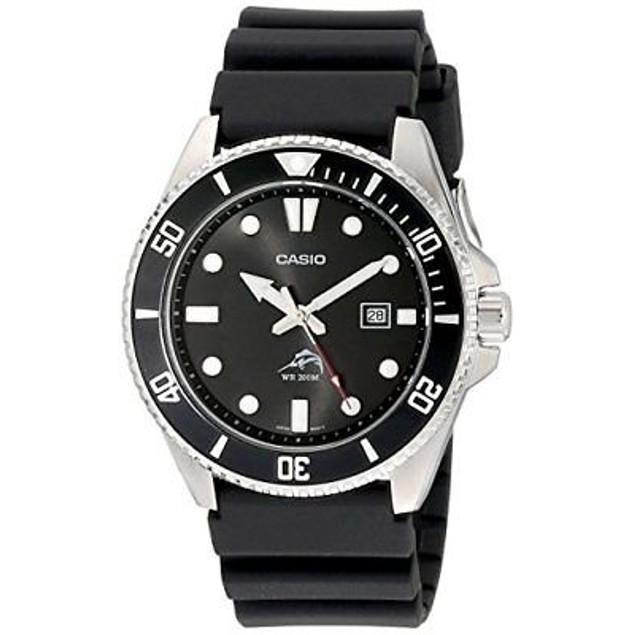 Casio Men's Watch Stainless Steel Quartz Duro Black