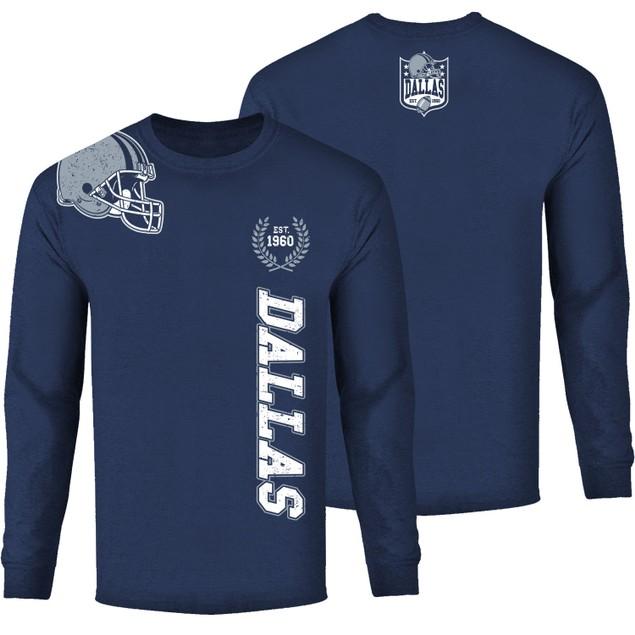 Men's Football Home Team Long Sleeve Shirts