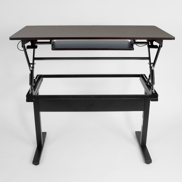 "WorkUP 48"" Double-Pedestal Adjustable Stand-Up Desk"