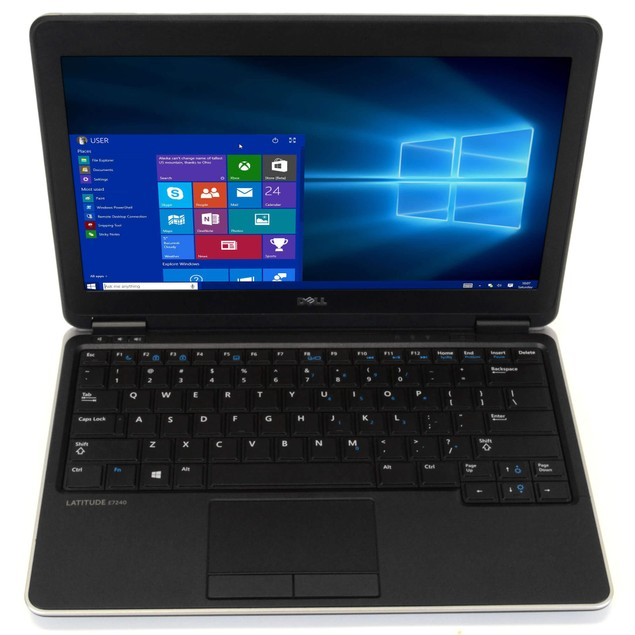 Dell E7240 Intel  i7 4GB 128GB SSD Windows 10 Home WiFi PC