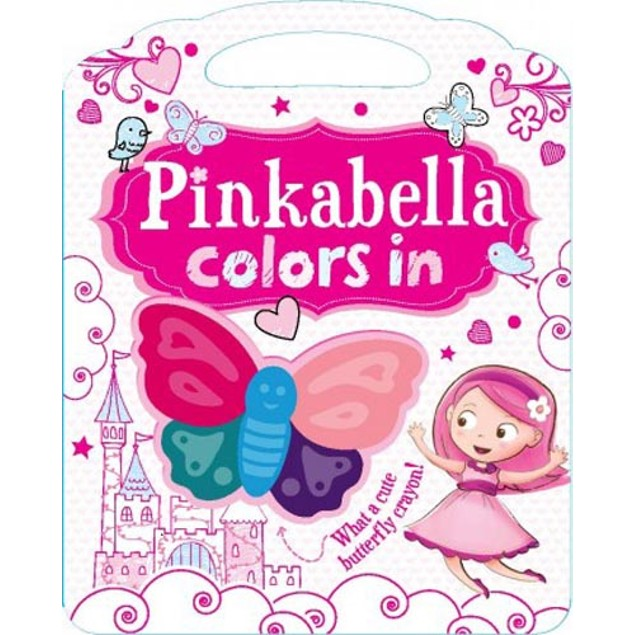 Pinkabella Colors In Book, Kids Books by Sellers Publishing