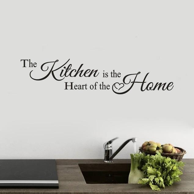 Kitchen Wall Sticker Decal Home Bedroom Decor Vinyl  Art Mural