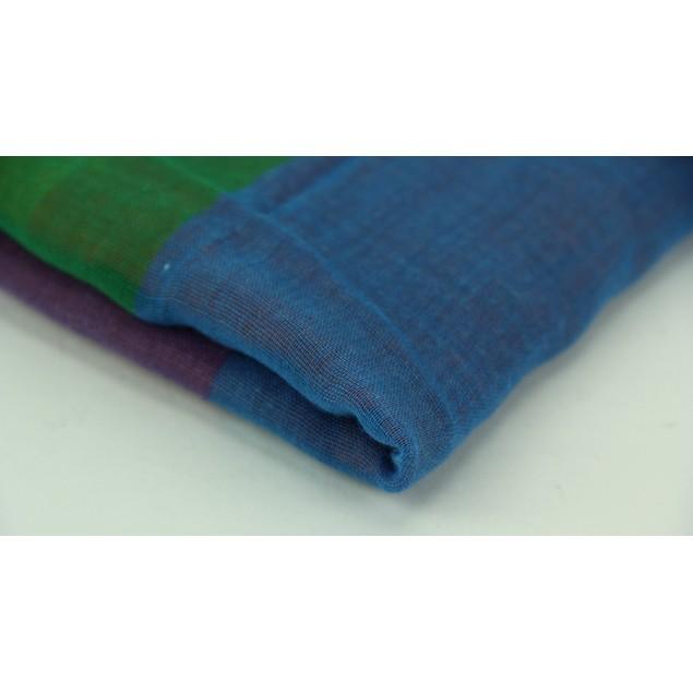 Colorful Rainbow Stripe Lightweight Long Shawl Womens Fashion Scarves
