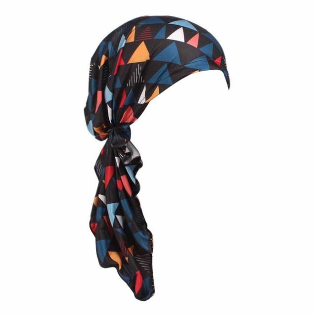 Women's Printed Turban Head Wrap Beanie Scarf