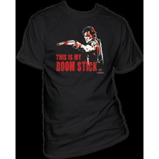 This Is My Boom Stick Army of Darkness T-Shirt Evil Dead 3 III Boomstick