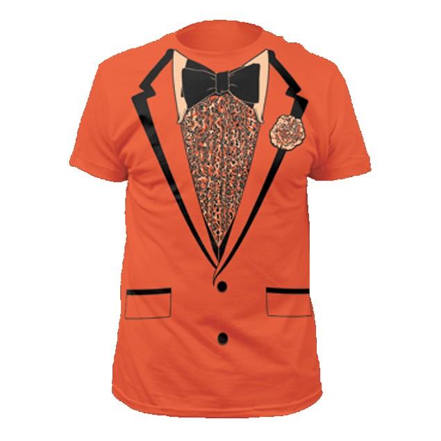 Lloyd Christmas Orange Tuxedo T-Shirt Costume
