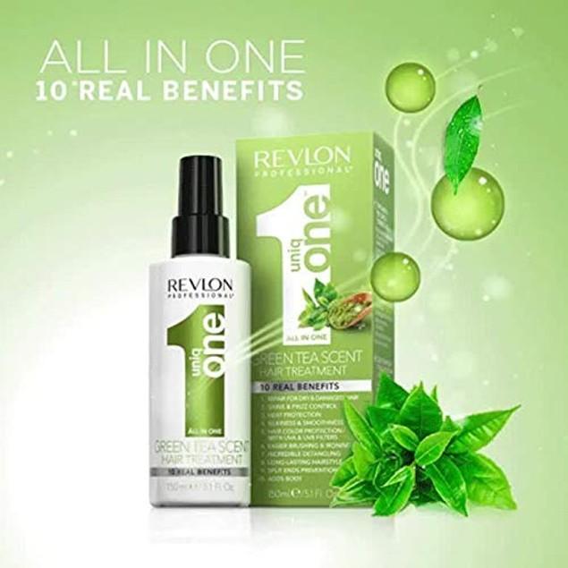 Revlon Uniq One All in One Green Tea Scent Hair Treatment 5.1 oz