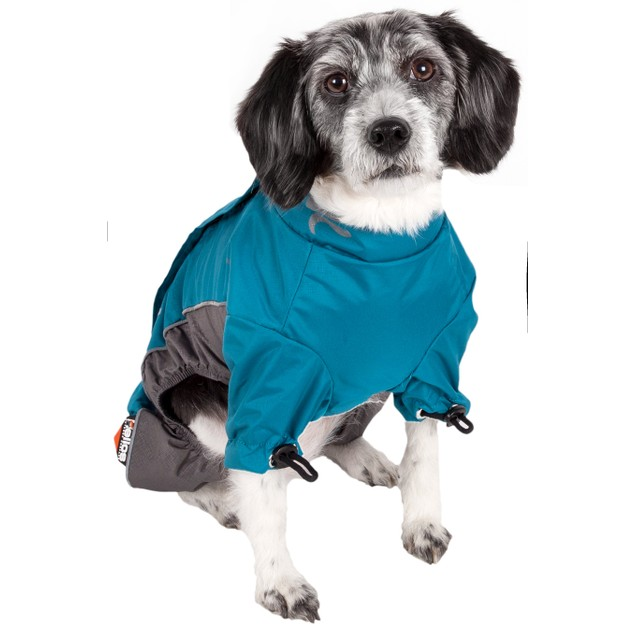 Helios Blizzard Full-Bodied Adjustable and 3M Reflective Dog Jacket