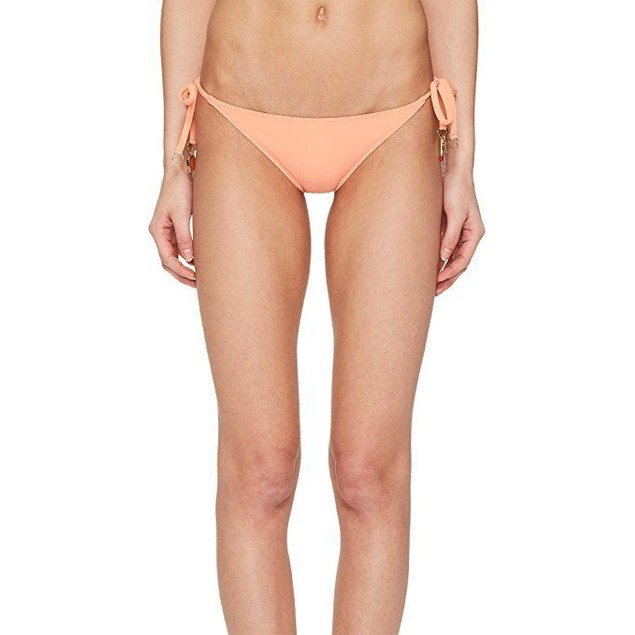 Stella McCartney Women's Timeless Basics Tie Side Bikini Bottom sz:S