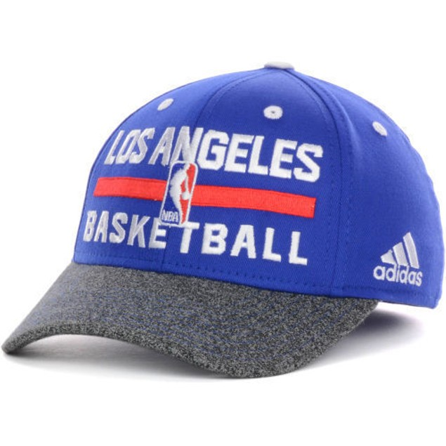 """Los Angeles Clippers NBA Adidas """"Practice"""" Youth Flex Fitted Hat"""