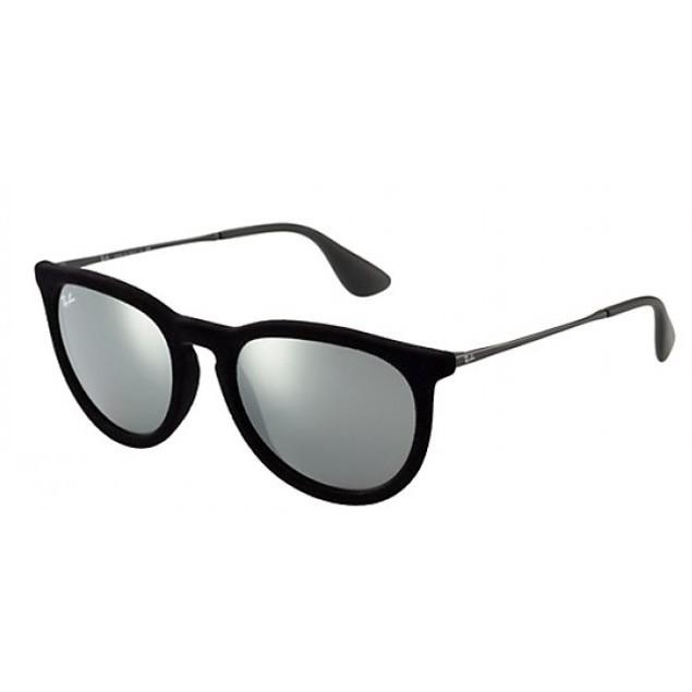 Ray Ban Erika Grey Mirror Sunglasses RB4171-60756G-54