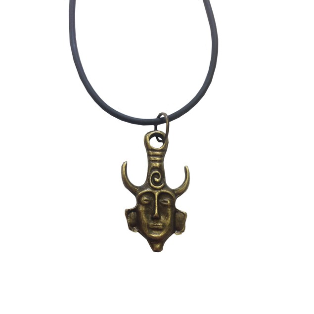 Dean's Amulet Face Necklace