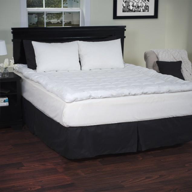 Lavish Home Down Alternative Bedding Topper 233 Thread Count