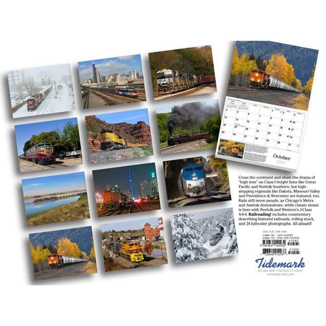 Trains Railroading Wall Calendar, Trains by Calendars