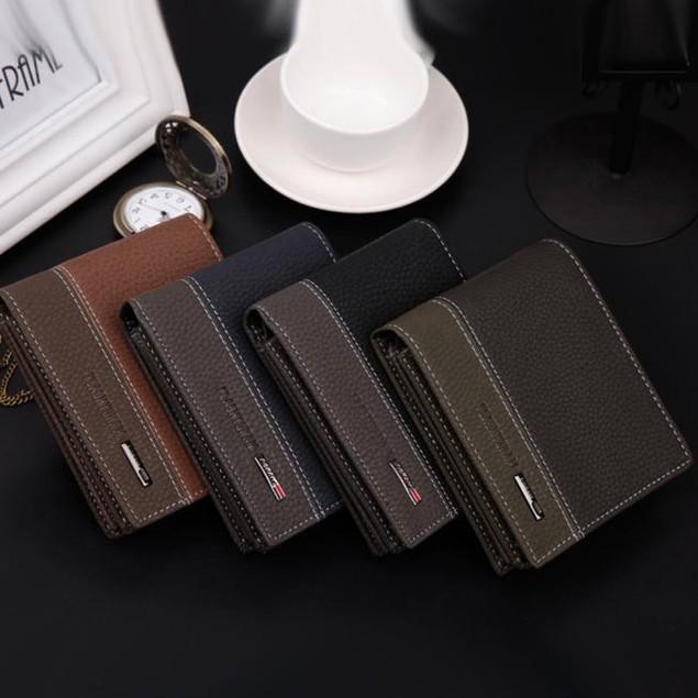 Men's Bifold Money Card Holder Wallet