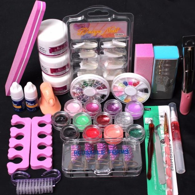 24 in 1 Acrylic Nail Art Kit