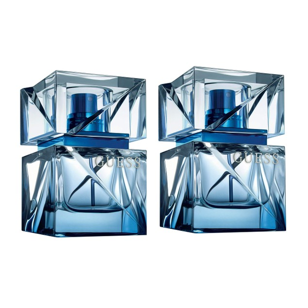 2-PACK Guess Night For Men Homme Men EDT Cologne, Woody Fragrance, 1 oz. ea