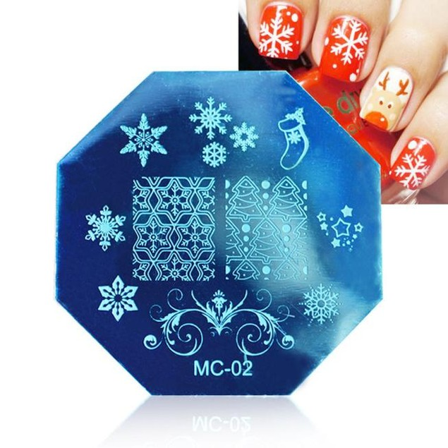 DIY Image Stamp Stamping Plates Manicure Template Nail Art Plate