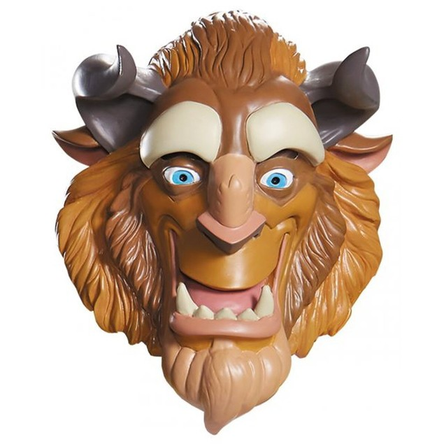 Beauty and the Beast Deluxe Adult Mask Disney Halloween Costume