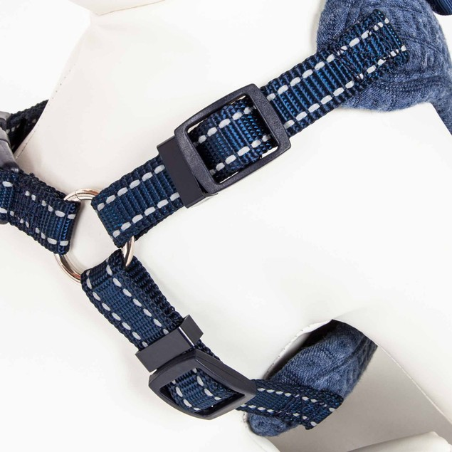 Pet Life 'Flam-Bowyant' Reversible And Adjustable Dog Harness W/ Bowtie
