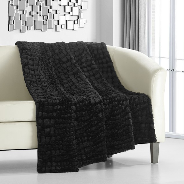 Chic Home Mugger Faux Fur Collection Super Soft Ultra Plush Throw Blanket