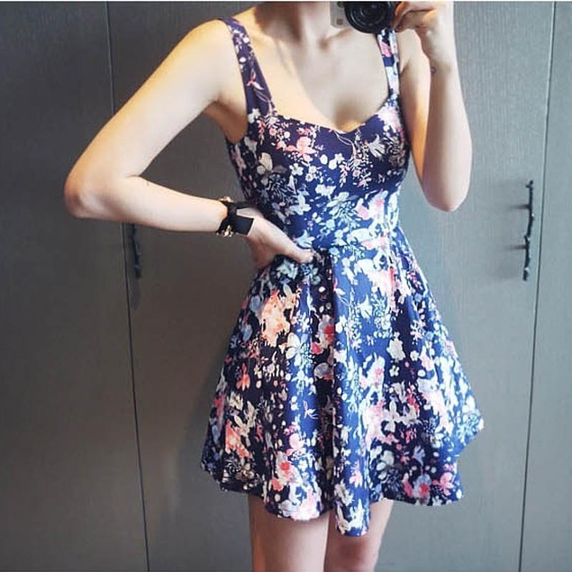 Sexy Women Sleeveless Casual Party Evening Cocktail Short Mini Dress BU