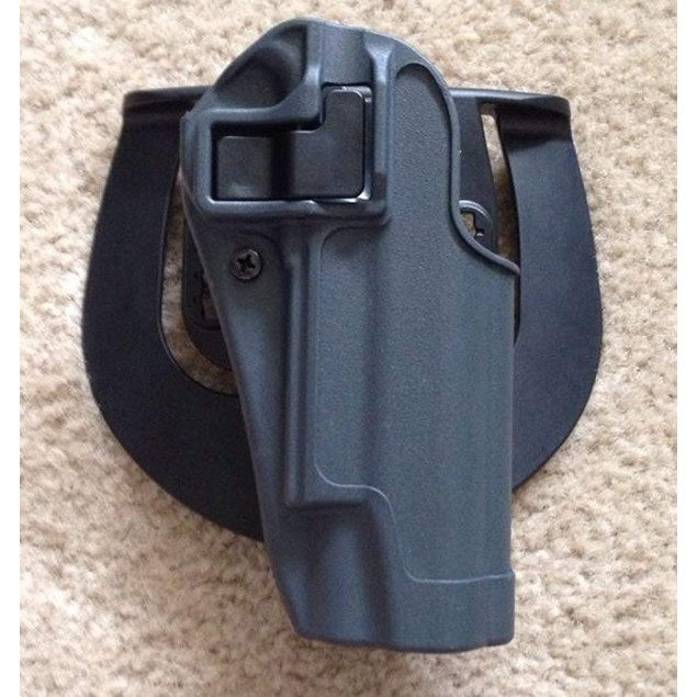 Quick Tactical Holster Right Hand Paddle & Belt Holster & Magazine Pouch