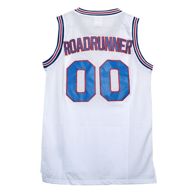 Road Runner #00 Tune Squad White Jersey